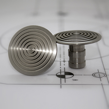 low domed demarcation studs